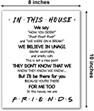 LaurBella for Friends Quotes TV Poster in This