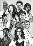 MOTIVATION4U Grey's Anatomy, an American Medical Drama Television Series, Meredith Grey, Cristina Yang, Izzie Stevens 12 X 18 inch Poster