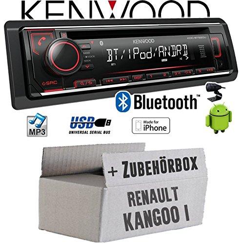 Renault Kangoo 1 - Autoradio Radio Kenwood KDC-BT520U - Bluetooth CD/MP3/USB - Einbauzubehö r - Einbauset JUST SOUND best choice for caraudio ReKa1_KDC-BT520U