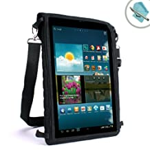 USA Gear FlexARMOR X Slim Tablet Cover Carrying Case with Screen Protector – Works With Sony Xperia Tablet Z