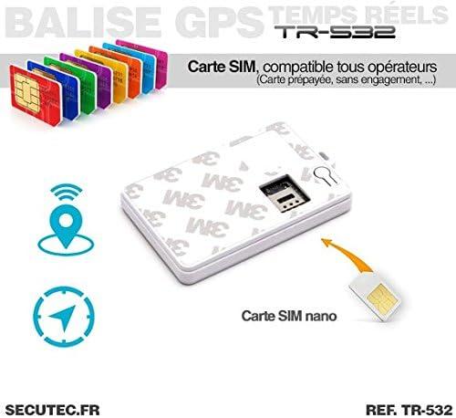 Localización GPS/GSM Ultra plate tipo tarjeta de Crédito sin suscripción: Amazon.es: Electrónica