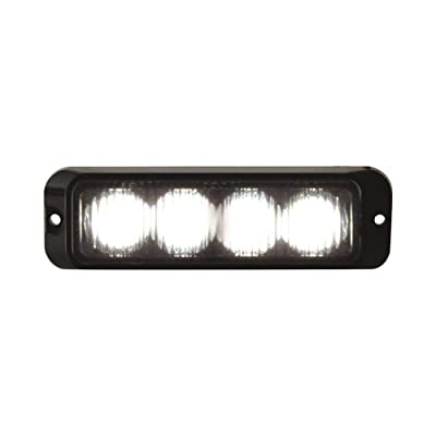 Buyers Products 8891131 Clear 4 LED Strobe Light (4-3/4in): Automotive