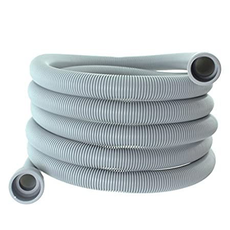 4m 19mm /& 22mm Connection Spares2go Drain Hose Extra Long Water Pipe for Indesit Dishwasher
