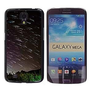 Fallen Grandes Estrellas - Metal de aluminio y de plástico duro Caja del teléfono - Negro - Samsung Galaxy Mega 6.3