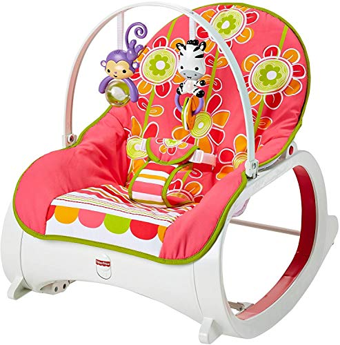 Fisher-Price Infant-to-Toddler Rocker Floral