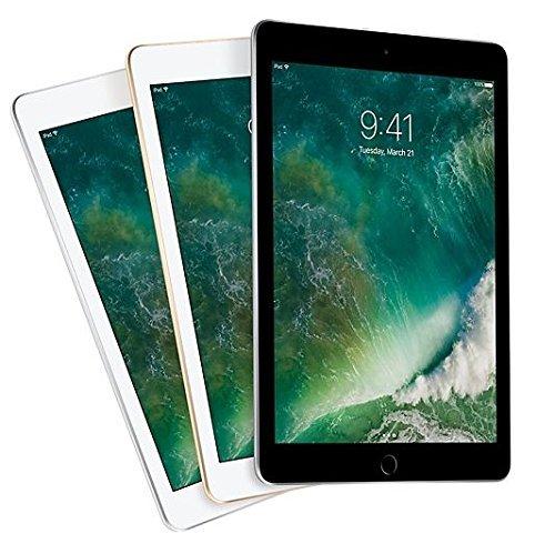 Apple iPad 9.7 with WiFi, 128GB- Gold (2017 Model) – (Renewed)
