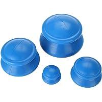 4PCS siliconen vacuüm cups, Chinese medische cupping gezondheidszorg massageproduct voor familie en salon