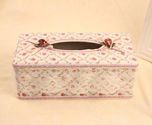 Diseño de rosas ablashi tejido caja para pañuelos Kleenex tejido ...