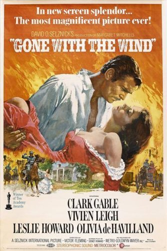 Gone With The Wind POSTER Movie