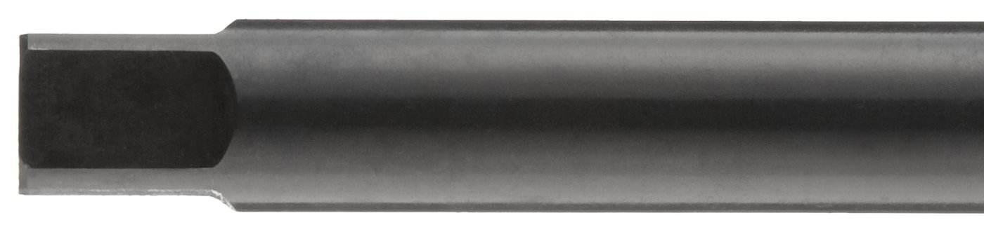 Modified Bottoming Chamfer Round Shank with Square End M10-1.50 Thread Size Black Oxide Finish Dormer E650 High-Speed Steel Combined Drill and Tap