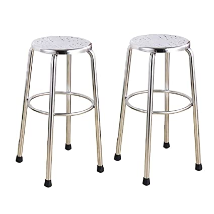 Prime Amazon Com Nubao Stainless Steel Stool Counter Chair High Ocoug Best Dining Table And Chair Ideas Images Ocougorg