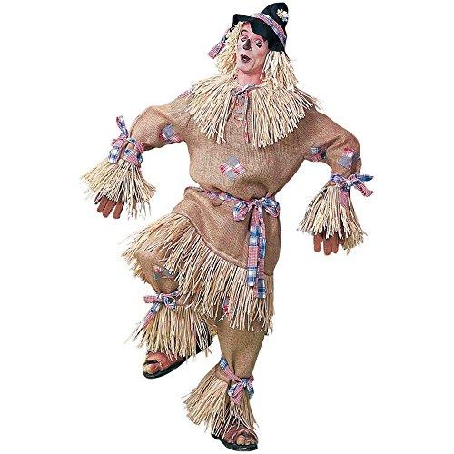 [Costume - Deluxe Scarecrow - Plus] (Scarecrow Adult Plus Costumes)