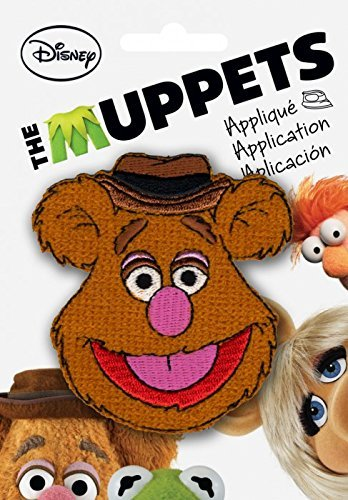The Muppets Fozzie Bear Fabric Applique Patch