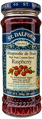 St. Dalfour Red Raspberry Conserves, 10 Ounce