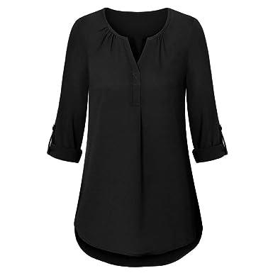 3a6ff579c Amazon.com  RNTop® Women s Solid T Shirt Top