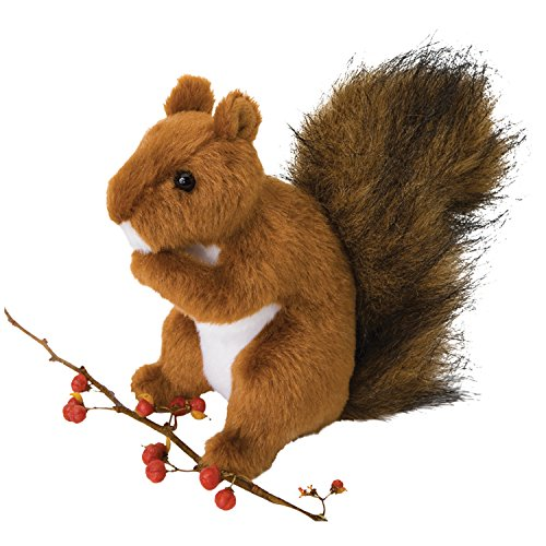 (Cuddle Toys 3793 Roadie RED Squirrel )