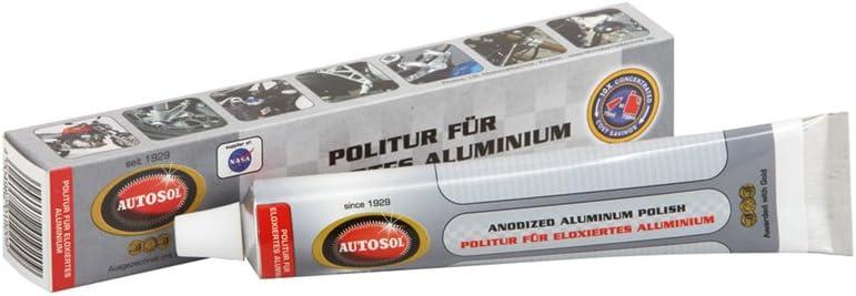 Autosol 01 001920 Abrillantador para Aluminio anodizado, 75 ml, Blanco
