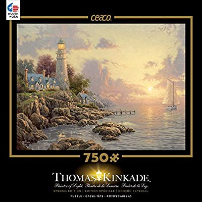 Ceaco Thomas Kinkade Special Edition The Sea Of Tranquility Puzzle