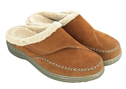 Orthofeet Arch Support Plantar Fasciitis Heel Pain Relief Diabetic Orthopedic Leather Womens Slippers Charlotte Tan