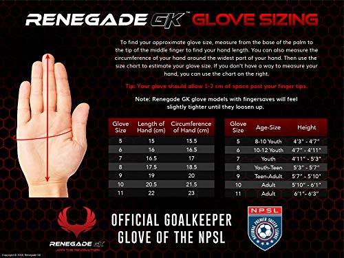 Renegade Fury Siege Size 7 Gloves Fingersavers