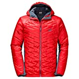 Jack Wolfskin Men's Icy Tundra Coat, FIERY Red, X-Large