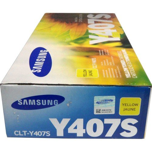 Samsung CLT-Y407S Toner Cartridge for CLP-325W and CLX-3185FW – Yellow