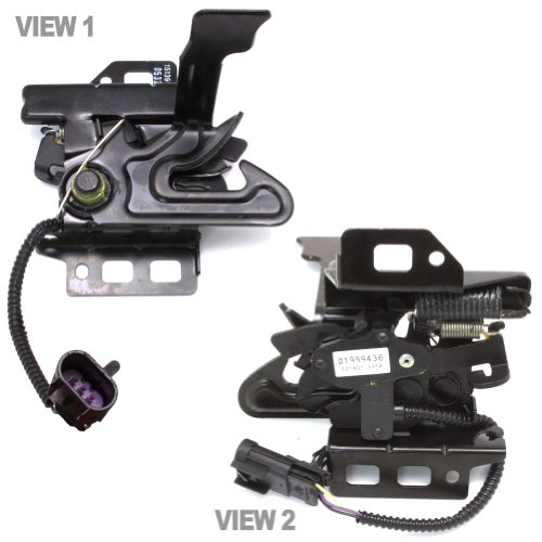 Oem Hood Latch (OEM GM 20763454/15139168 Hood Latch & Switch/Sensor For 2007-2011 Chevy Silverado / GMC Sierra)