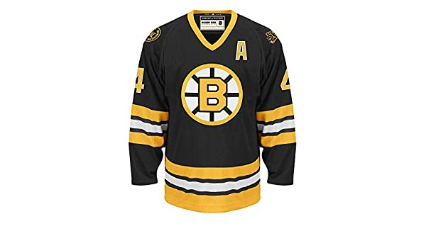 7fc02e8d4 Amazon.com   adidas Bobby Orr Boston Bruins Heroes of Hockey Authentic  Vintage Jersey (50 M)   Sports   Outdoors