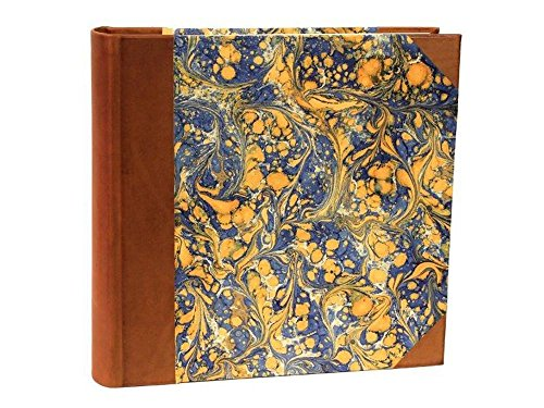 il Torchio - Photo album and box case with cover bound in leather and hand-marbled paper by Torchio