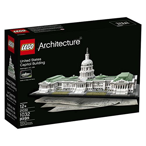 LEGO Architecture 21030 United States Capitol Building Kit (1032...