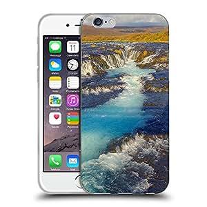 "Super Galaxy Coque de Protection TPU Silicone Case pour // F00001681 Islandia otoño de la caída del otoño // Apple iPhone 6 4.7"""