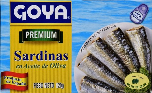Goya Foods Sardines in Olive Oil, 4-Ounce (Pack of 25) by Goya (Image #6)