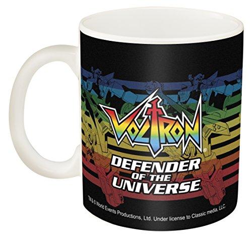 Zak Designs VLTA-1591 Voltron Coffee Mugs, 11.5 oz, Multicolor