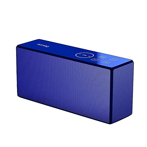 Hancoc Bluetooth-luidspreker Blauwe Mini Draagbare Draadloze Bluetooth Stereo Bas Subwoofer Riding Oefening Fietsen…
