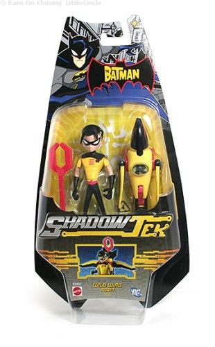Buy The Batman Shadowtek Wild Wing Robin Figure With Weapons Online At Low Prices In India Amazon In