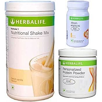 Amazon Com Herbalife Weight Loss Diet Program F1 Vanilla Afresh