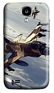 Samsung Galaxy S4 I9500 Cases & Covers - Air Combat Manoeuvring PC Custom Soft Case Cover Protector for Samsung Galaxy S4 I9500
