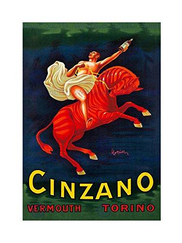 cinzano-vermouth-1910-home-deco-black-framed-art-print-picture-b12x6957