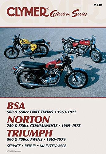 Vintage British Street Bikes: BSA, Norton, Triumph- Repair Manual