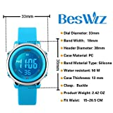 BesWLZ Kids Outdoor Sport LED Digital Electrical