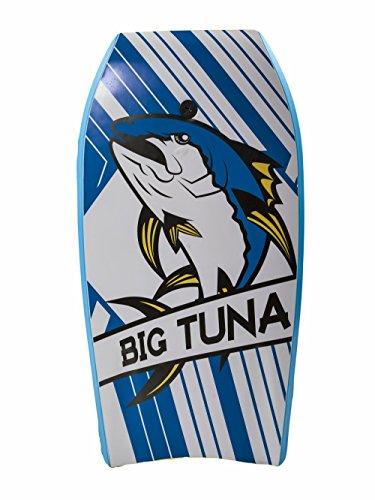 Body Glove 15592 Big Tuna Body Board, White/Navy, 45'' by Body Glove