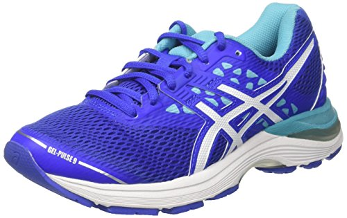 Purple Aquarium Blue White Blue Running Gel Asics Pulse 9 Women's Shoes qxZP8CRw