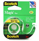 "Office Products : Scotch 3105 3/4"" x 300"" Scotch Magic Tape 3 Pack"