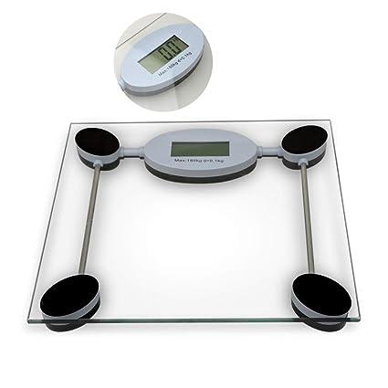 TANBURO Báscula de Baño Digital de Alta Medición Precisa 180KG/400lb con Gran Plataforma y