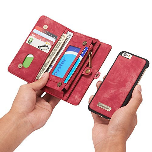 Leather wallet phone cases iPhone 6/iPhone 6S/iPhone 6 Plus/iPhone 6S Plus/iPhone 7/iPhone...