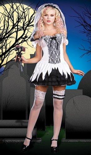 Sexy Corpse Bride Costume - XL