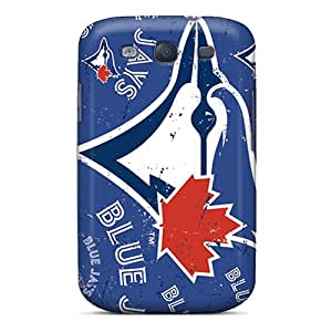 Excellent Hard Phone Cases For Samsung Galaxy S3 (tHr13181fpnv) Allow Personal Design Trendy Toronto Blue Jays Pattern