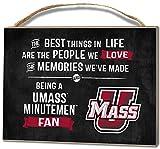 KH Sports Fan 4''X5.5'' Massachusetts (Umass-Amherst) Minutemen Best Things Small College Plaque