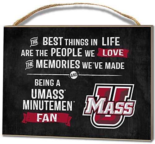 KH Sports Fan 4''X5.5'' Massachusetts (Umass-Amherst) Minutemen Best Things Small College Plaque by KH Sports Fan (Image #2)