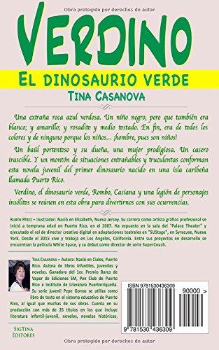 Verdino: el dinosaurio verde (Spanish Edition): Tina Casanova: 9781530436309: Amazon.com: Books